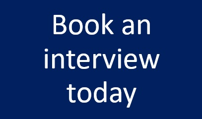 book an interview today